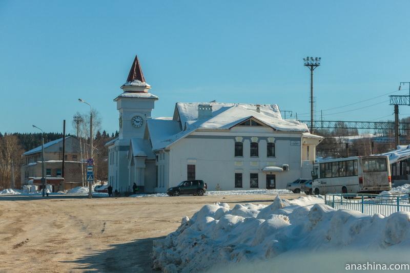 Вокзал железнодорожной станции Галич