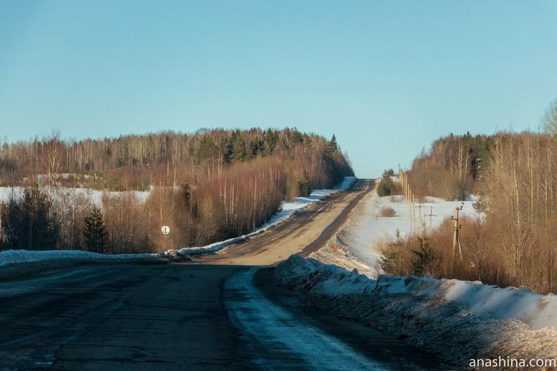 Пустынная дорога, Костромская область