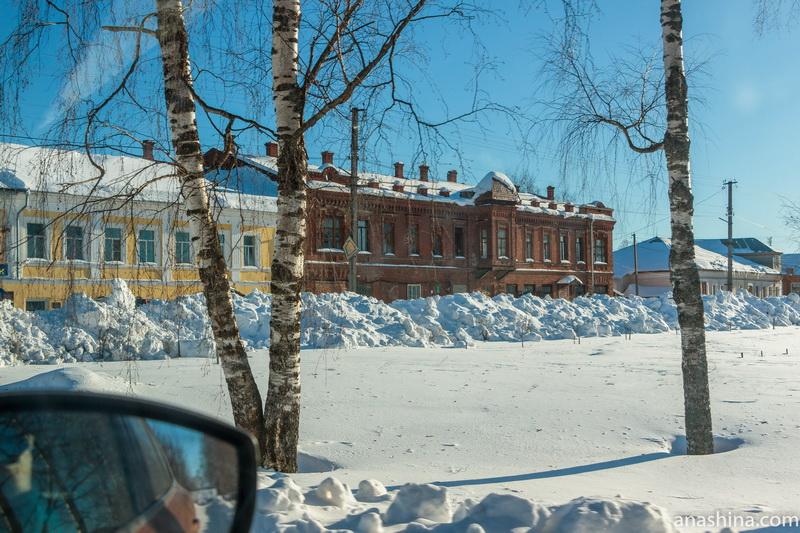 Дома в центре Чухломы