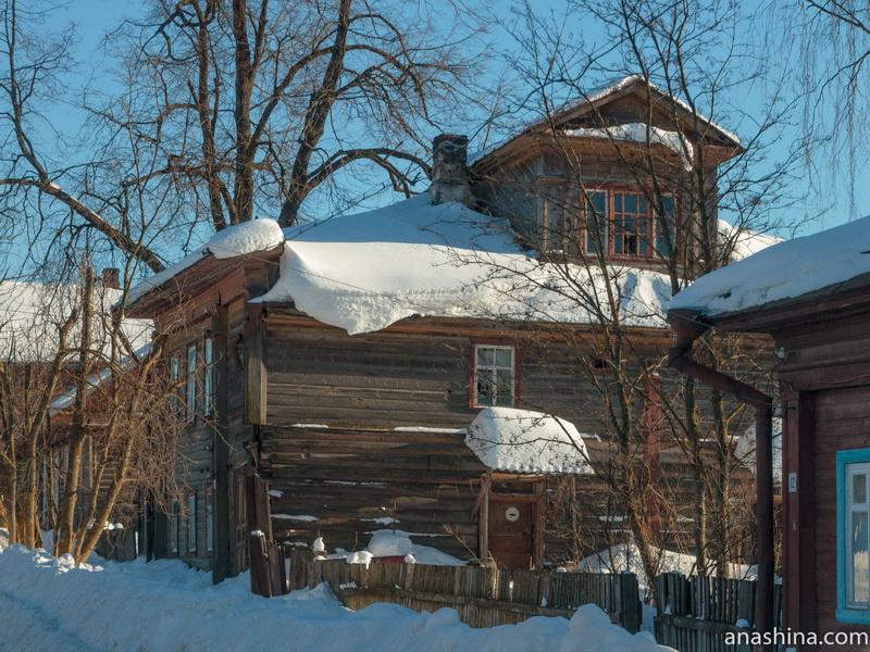 Старый деревянный дом, Чухлома