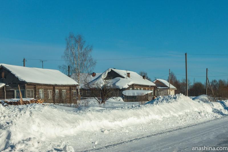 Деревня, Костромская область