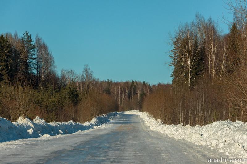 Дорога, Костромская область