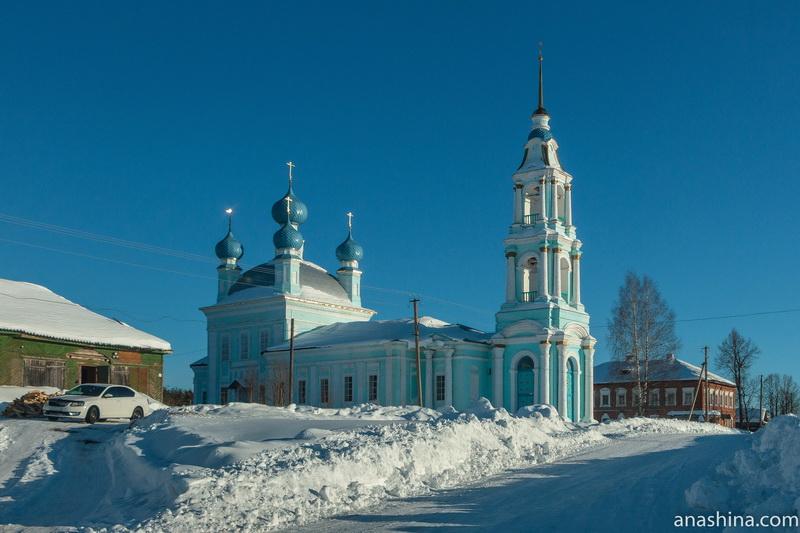 Церковь Введения во храм Пресвятой Богородицы в селе Введенское