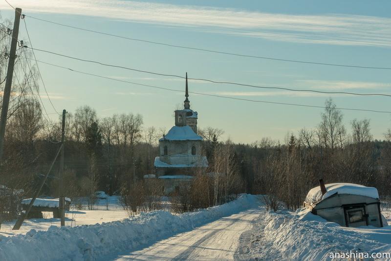 Ильинская церковь, Фалилеево