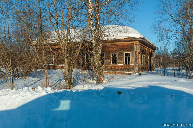Заброшенный дом, Костромская область