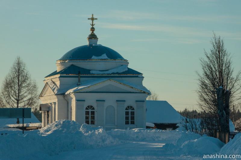 Церковь Димитрия Солунского в Введенском, Костромская область