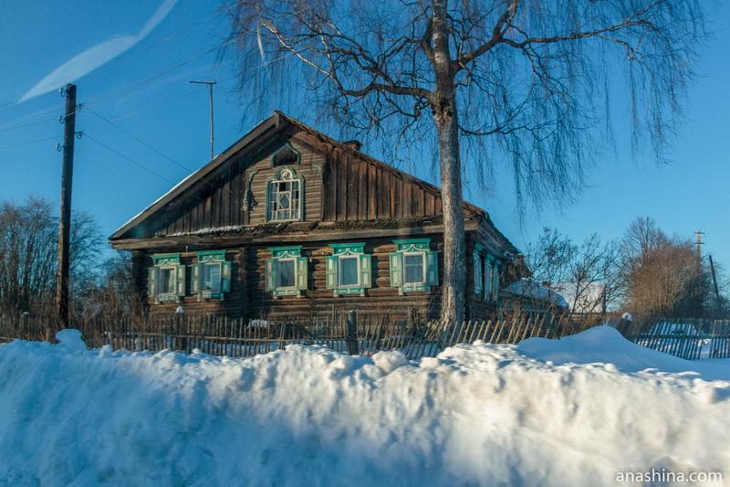 Дом в Петровском, Костромская область