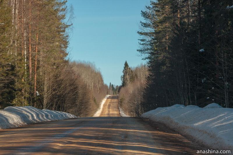 Дорога Солигалич - Тотьма
