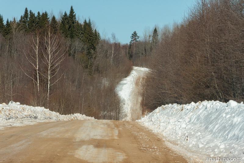 зимник между Солигаличем (Костромская область) и Тотьмой (Вологодская область)