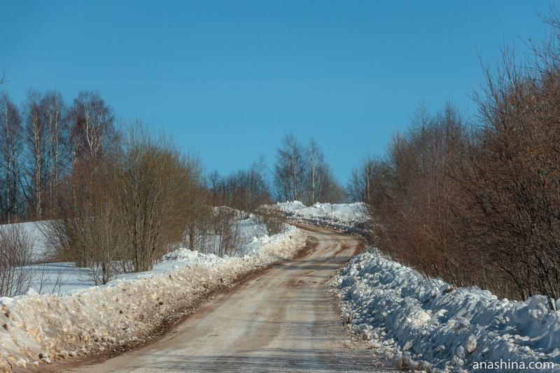 Дорога Солигалич - Тотьма, зимник