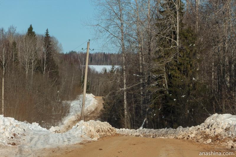 Дорога Солигалич - Тотьма, зимник, Чаловы горы