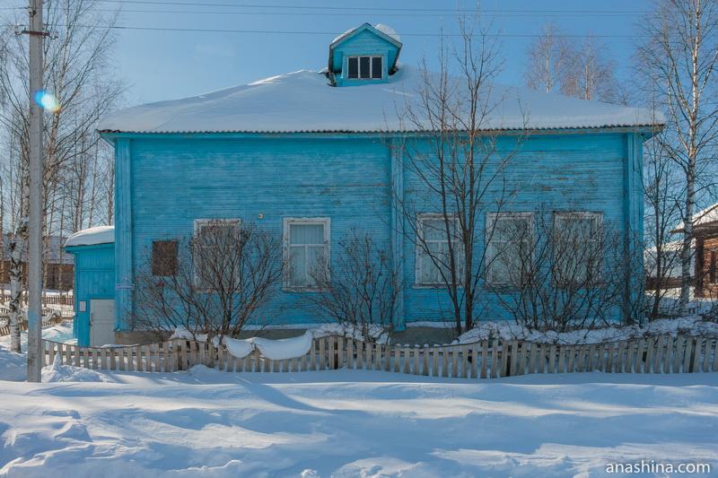Дом-музей Николая Рубцова, село Никольское