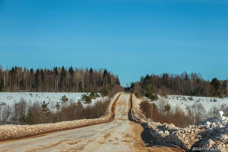 Дорога, Вологодская область