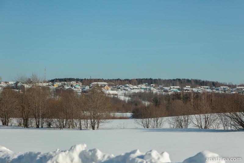 Деревня Великий Двор, Вологодская область