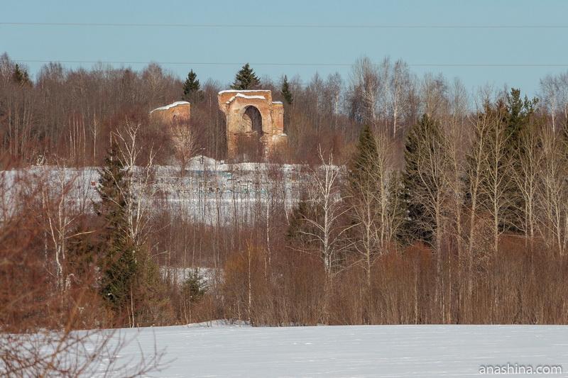 Церковь Воскресения Христова близ деревни Великий Двор, Вологодская область