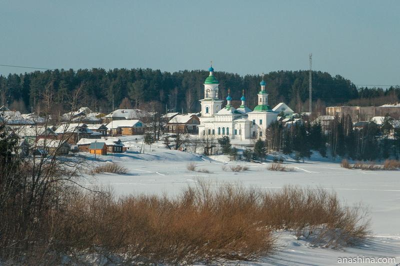 Церковь Покрова Пресвятой Богородицы в селе Устье (Усть-Печеньга), Вологодская область