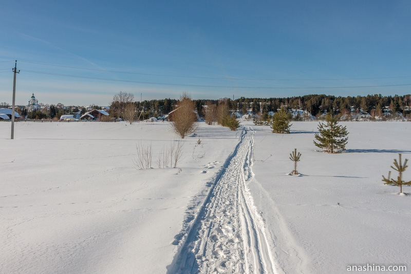Снегоходная тропа, Сухона, Устье (Усть-Печеньга), Вологодская область