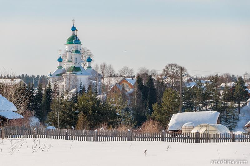 Покровская церковь в Устье (Усть-Печеньга), Вологодская область