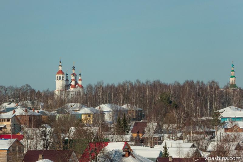 Панорама Тотьмы