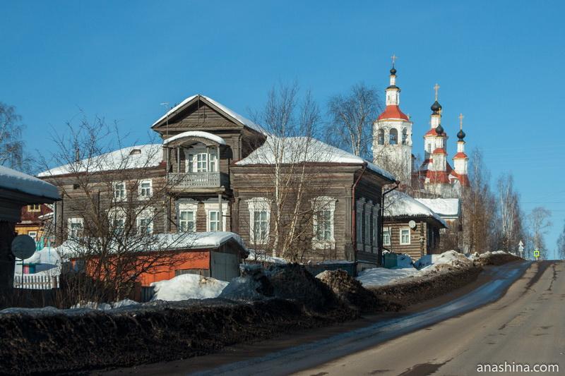 Улица Ленина в Тотьме