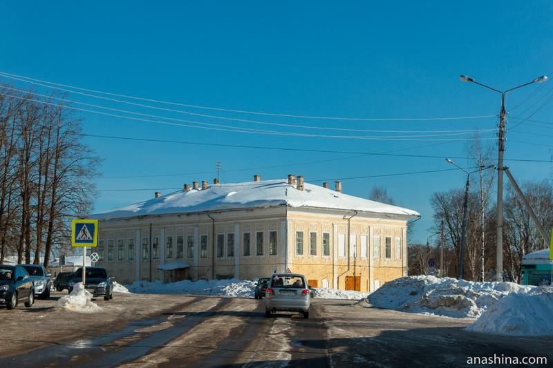 Здание городской управы, Тотьма