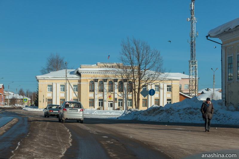 Здание администрация города Тотьмы