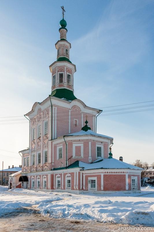 Церковь Рождества Христова, Тотьма