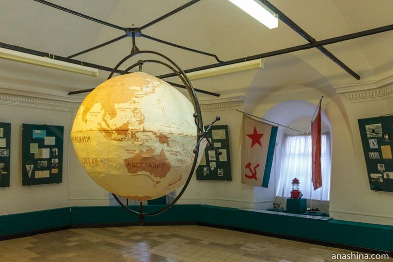 Экспозиция Музея мореходов, Тотьма
