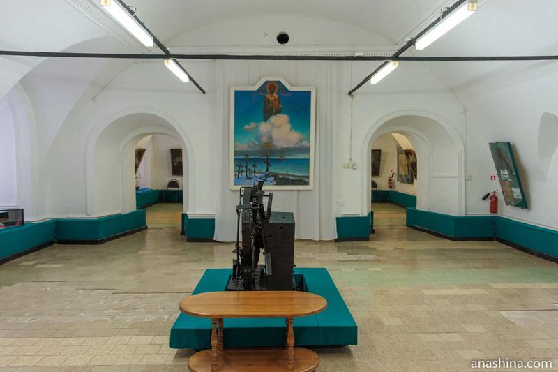 Экспозиция одного из залов Музея мореходов, Тотьма