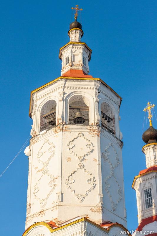 Колокольня Входоиерусалимской церкви, Тотьма