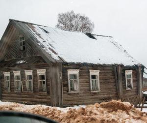 Старый дом близ Вытегры