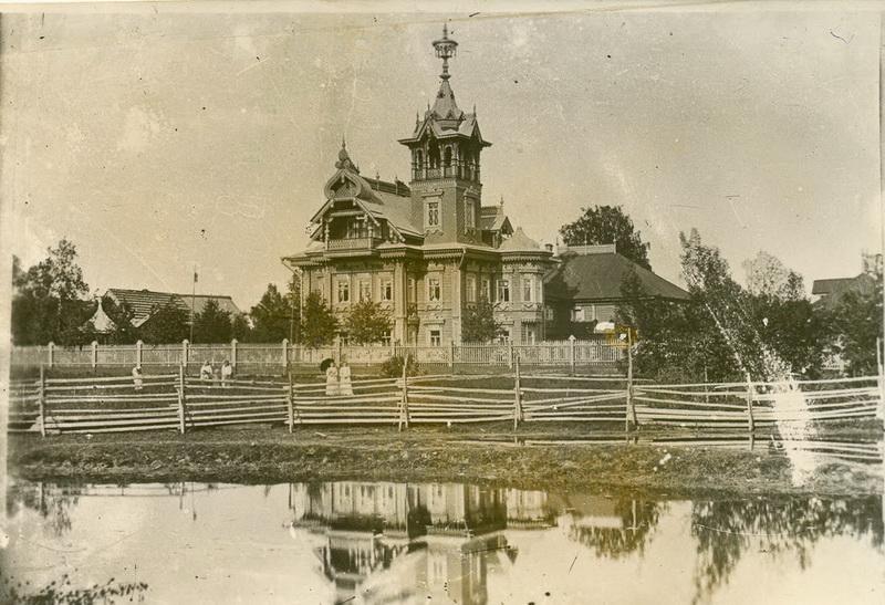 Терем в Асташово, фото начала XX века