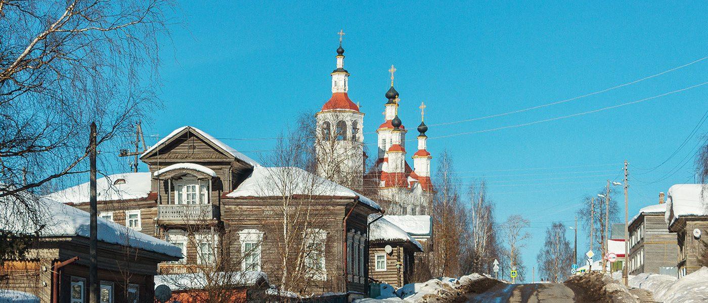 Тотьма: город солеваров и путешественников