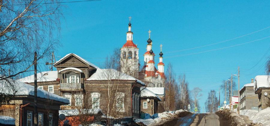 По Костромской и Вологодской областям. Часть 9: Тотьма