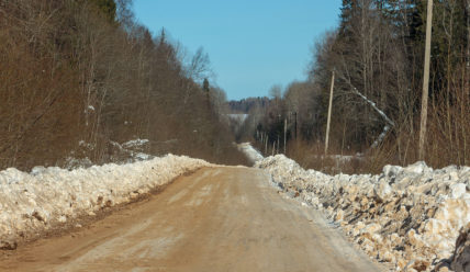 Зимник из Солигалича в Тотьму, села Никольское и Усть-Печеньга