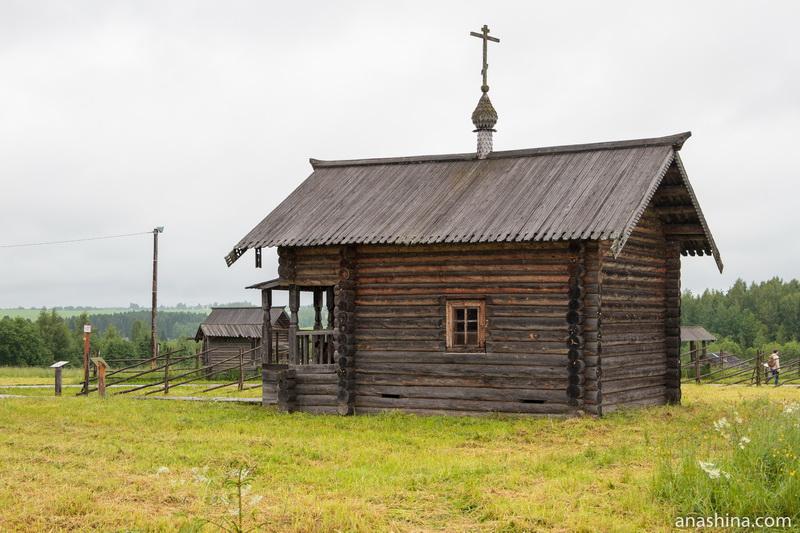 Часовня Илии Пророка из Верховажского района, Семёнково