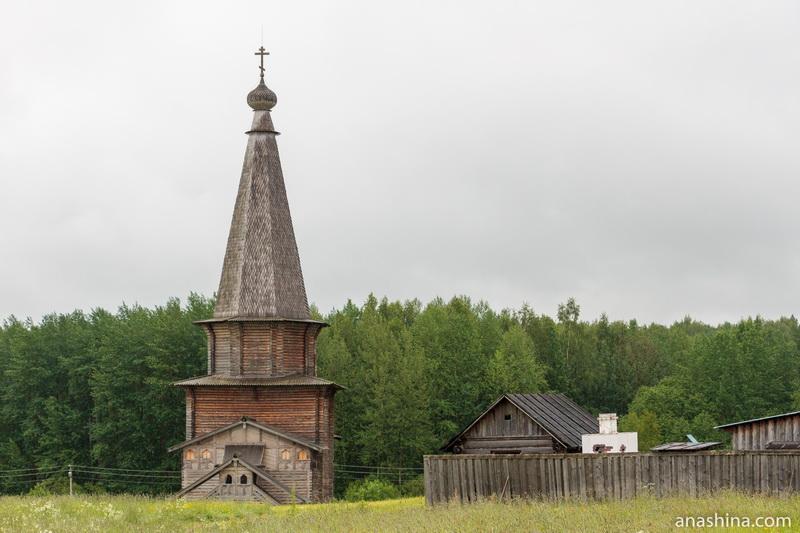 Церковь Георгия Победоносца из деревни Поцкий погост, Семёнково