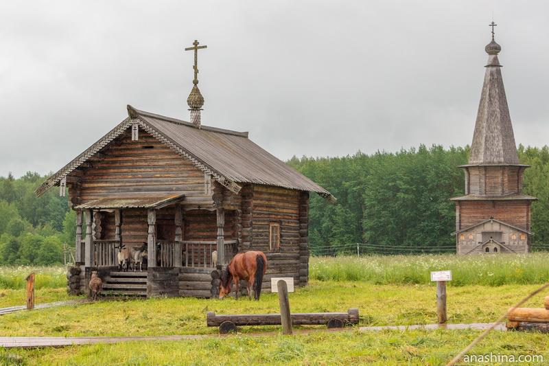 Ильинская часовня и Георгиевская церковь, Семёнково