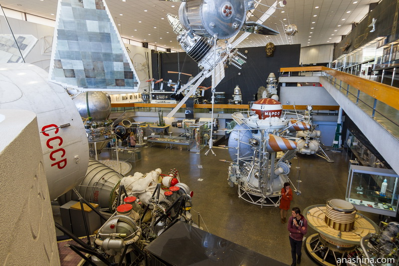 Зал ракетно-космической техники, Музей космонавтики, Калуга