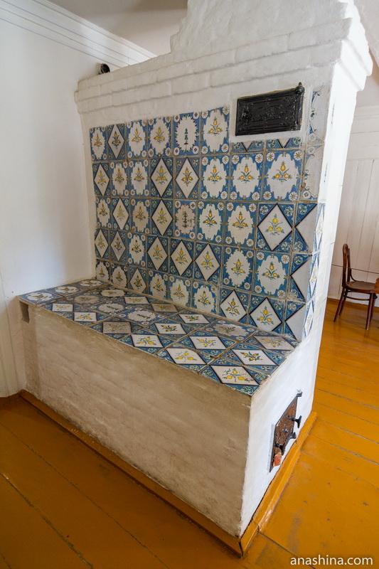 Печь, дом Циолковского, Калуга