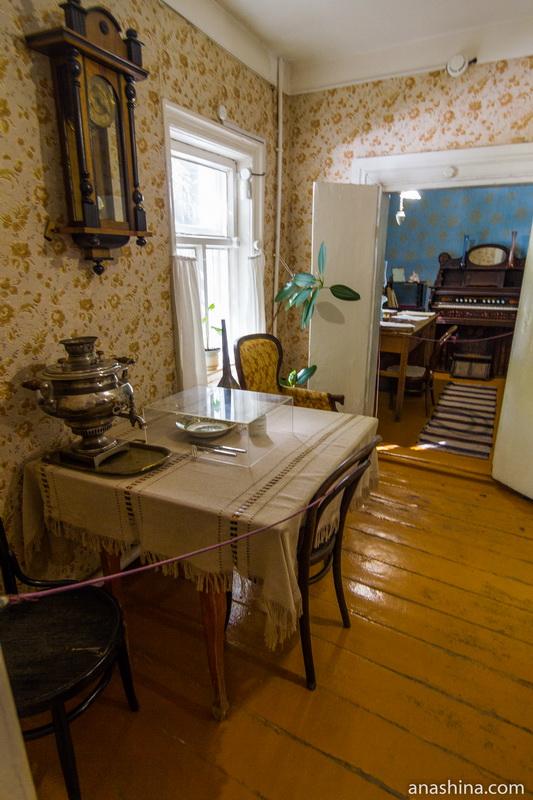 Столовая, дом Циолковского, Калуга