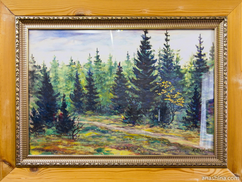 Картина работы А.Л.Чижевского