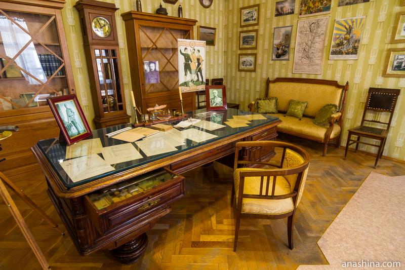 Кабинет, дом-музей Чижевского, Калуга