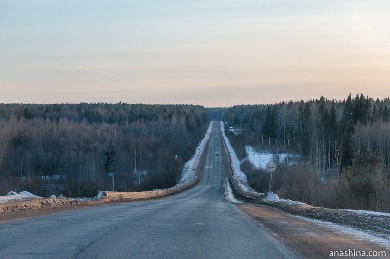 Дорога из Тотьмы в Вологду