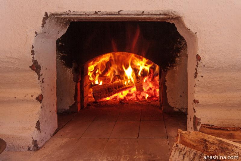Огонь в печи, Семёнково