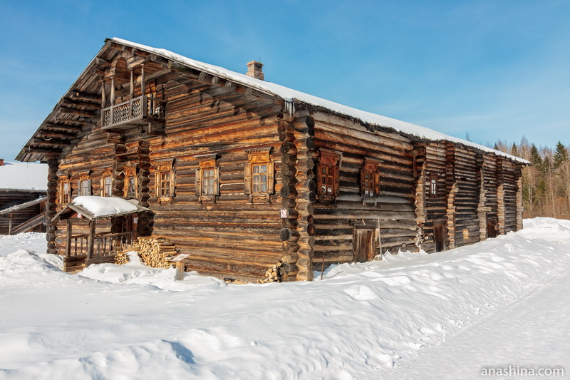 Дом А.И.Поповой, Семёнково