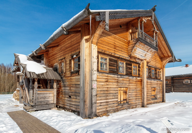 Дом М.Н.Попова, Семёнково