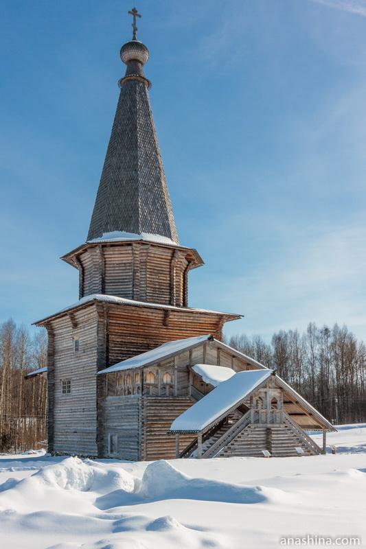 Георгиевская церковь, Семёнково
