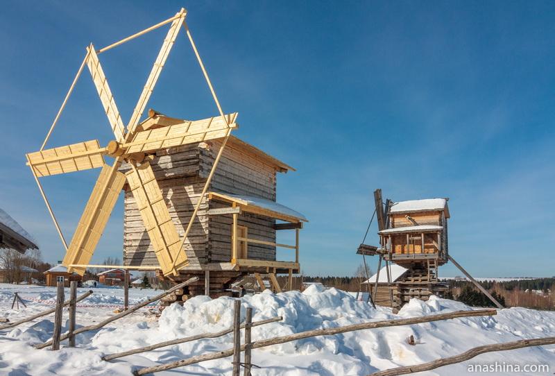 Ветряные мельницы, Семёнково