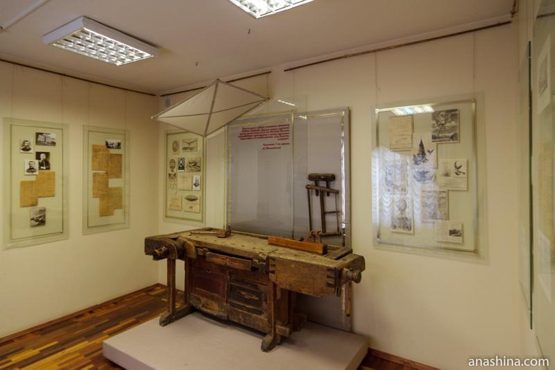 Экспозиция музея Можайского